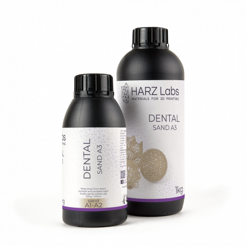 HARZ Labs Dental Sand Resin A3 pro Formlabs