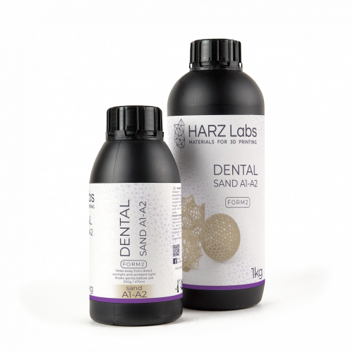 HARZ Labs Dental Sand Resin A1-A2 pro Formlabs