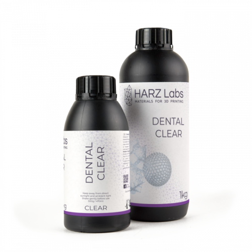 HARZ Labs Dental Clear Resin